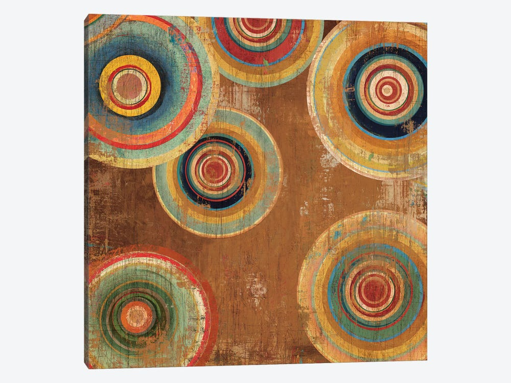 Living Colours II by Tom Reeves 1-piece Canvas Art Print