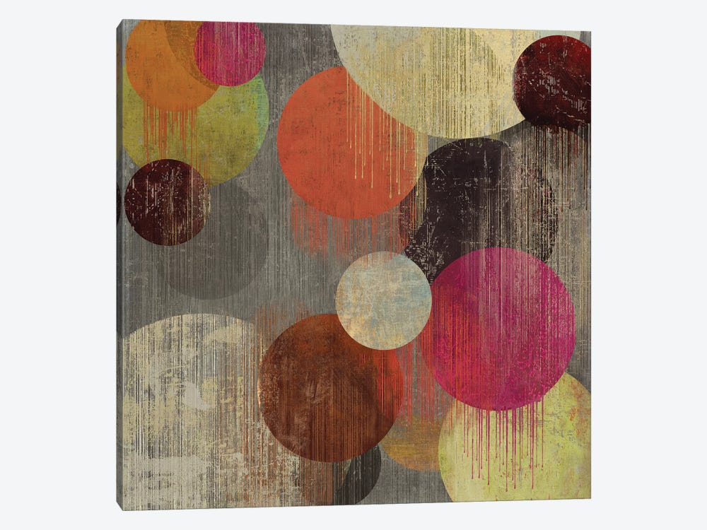 Magenta Bubbles II by Tom Reeves 1-piece Art Print