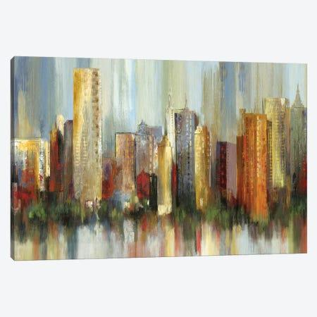 Metropolis Canvas Print #TOR80} by Tom Reeves Canvas Print