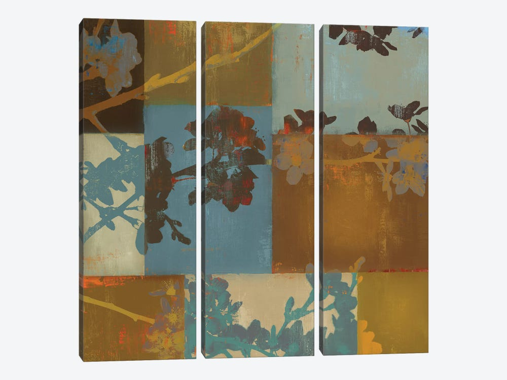 Nature Composed I by Tom Reeves 3-piece Canvas Art