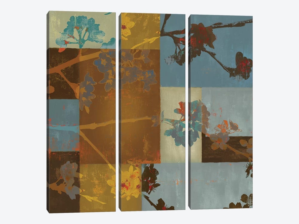 Nature Composed II by Tom Reeves 3-piece Canvas Art Print