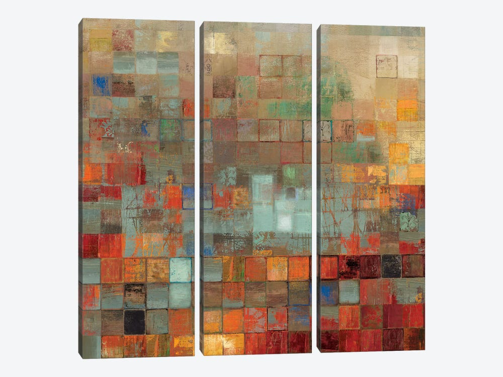 Organized by Tom Reeves 3-piece Canvas Print