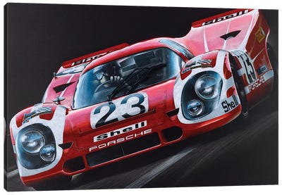 Porsche 917 Canvas Art Print