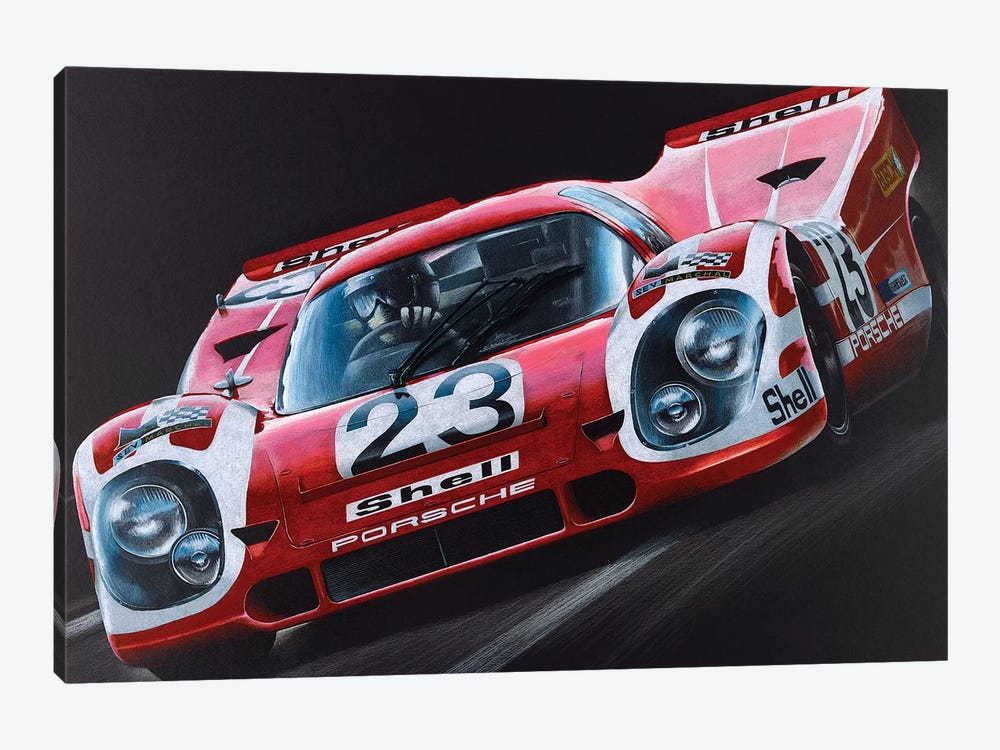 Porsche 917 1-piece Canvas Print