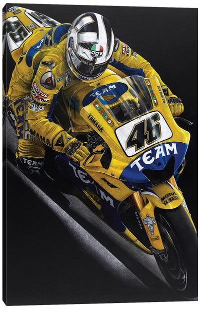 Rossi Canvas Art Print