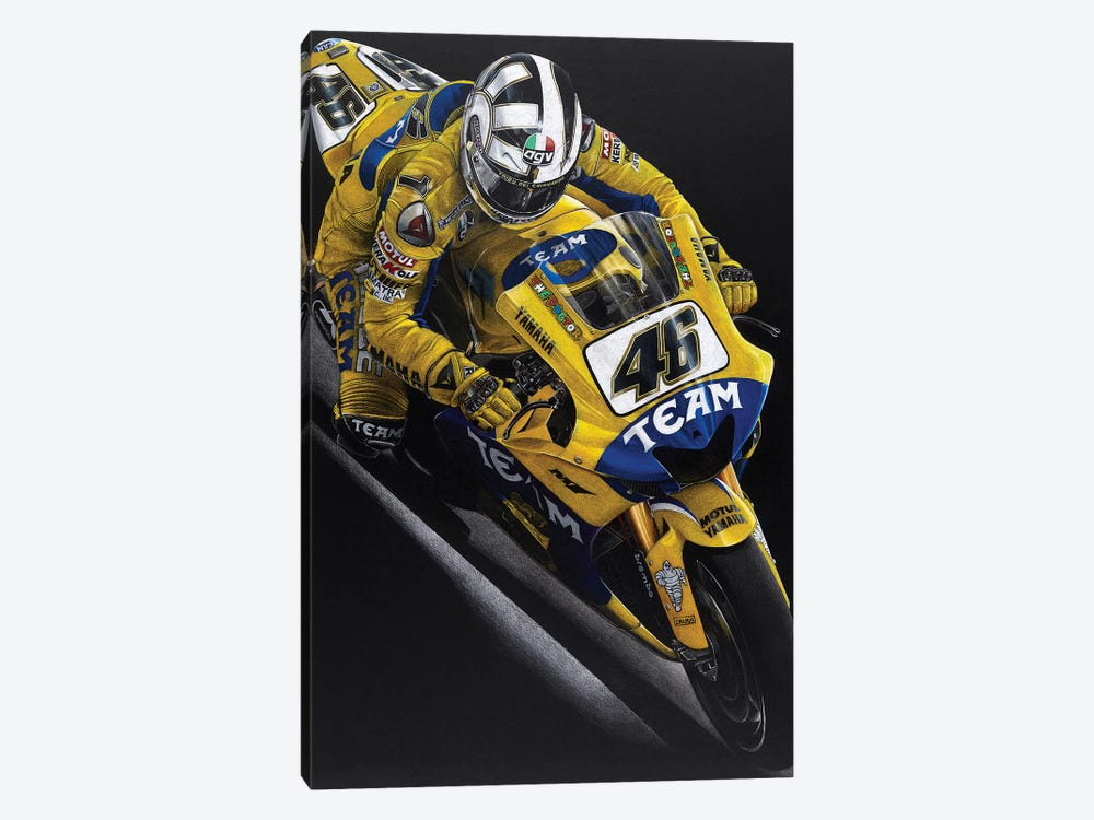 Rossi 1-piece Canvas Art Print