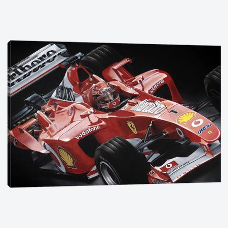 Schumacher Canvas Print #TOS6} by Todd Strothers Canvas Art Print