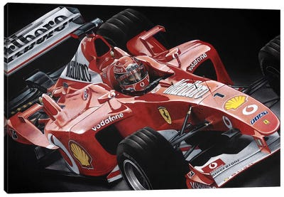 Schumacher Canvas Art Print