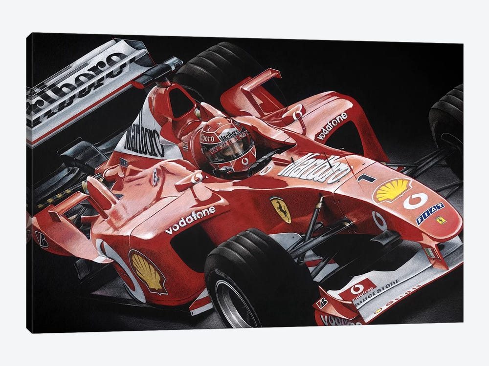 Schumacher by Todd Strothers 1-piece Canvas Artwork