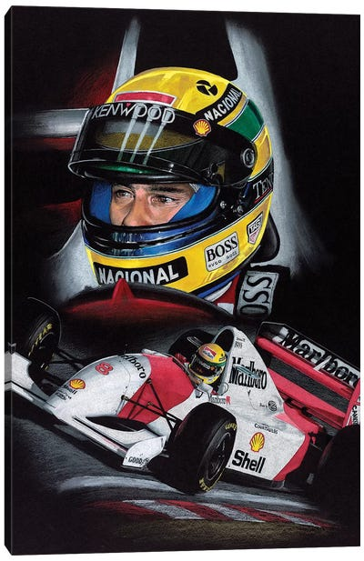 Senna Canvas Art Print