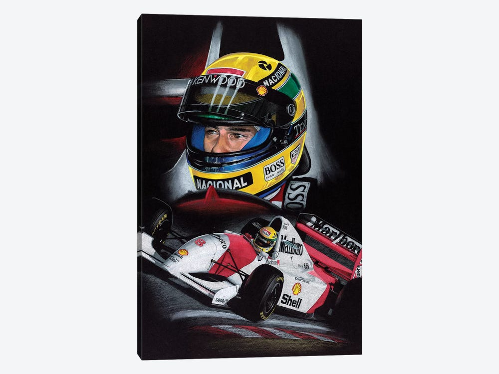Senna by Todd Strothers 1-piece Canvas Art Print