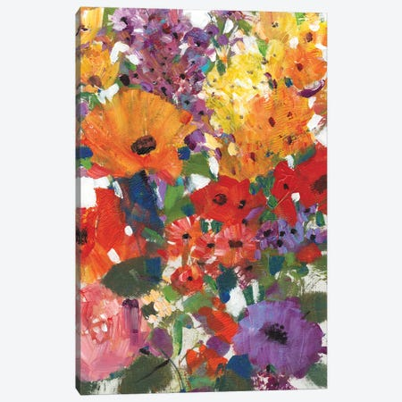 Fresh Floral I Canvas Print #TOT100} by Tim OToole Canvas Art