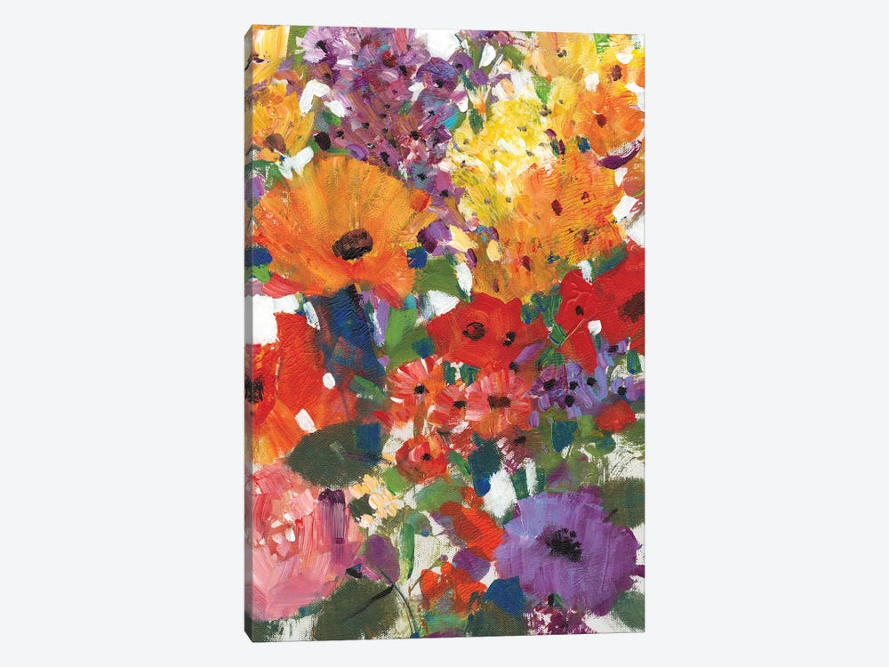 Fresh Floral I by Tim O'Toole 1-piece Canvas Wall Art
