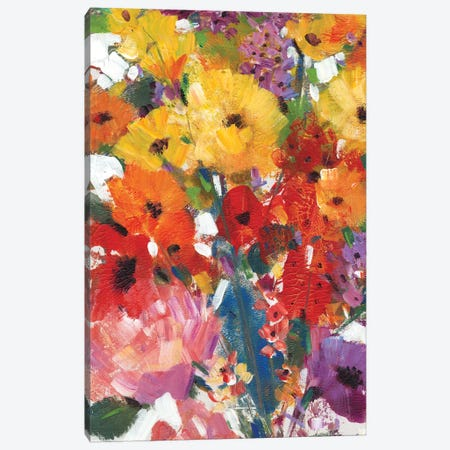 Fresh Floral II Canvas Print #TOT101} by Tim OToole Canvas Artwork