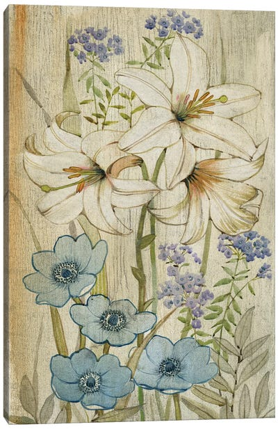 Lily Chinoiserie I Canvas Print #TOT106