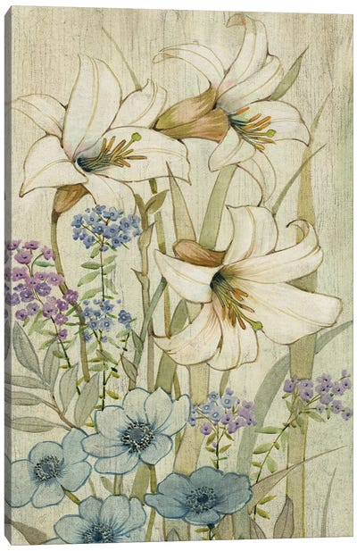 Lily Chinoiserie II Canvas Print #TOT107