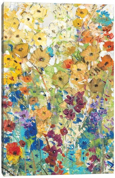 Meadow Floral I Canvas Art Print
