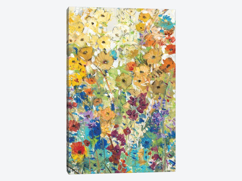 Meadow Floral I by Tim O'Toole 1-piece Canvas Wall Art
