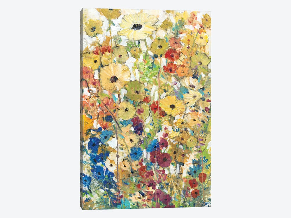 Meadow Floral II by Tim OToole 1-piece Canvas Print