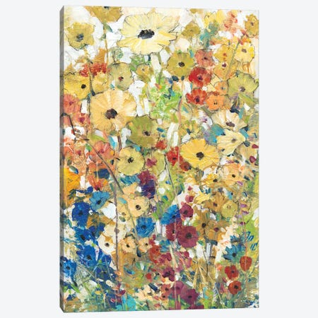 Meadow Floral II Canvas Print #TOT109} by Tim O'Toole Canvas Art