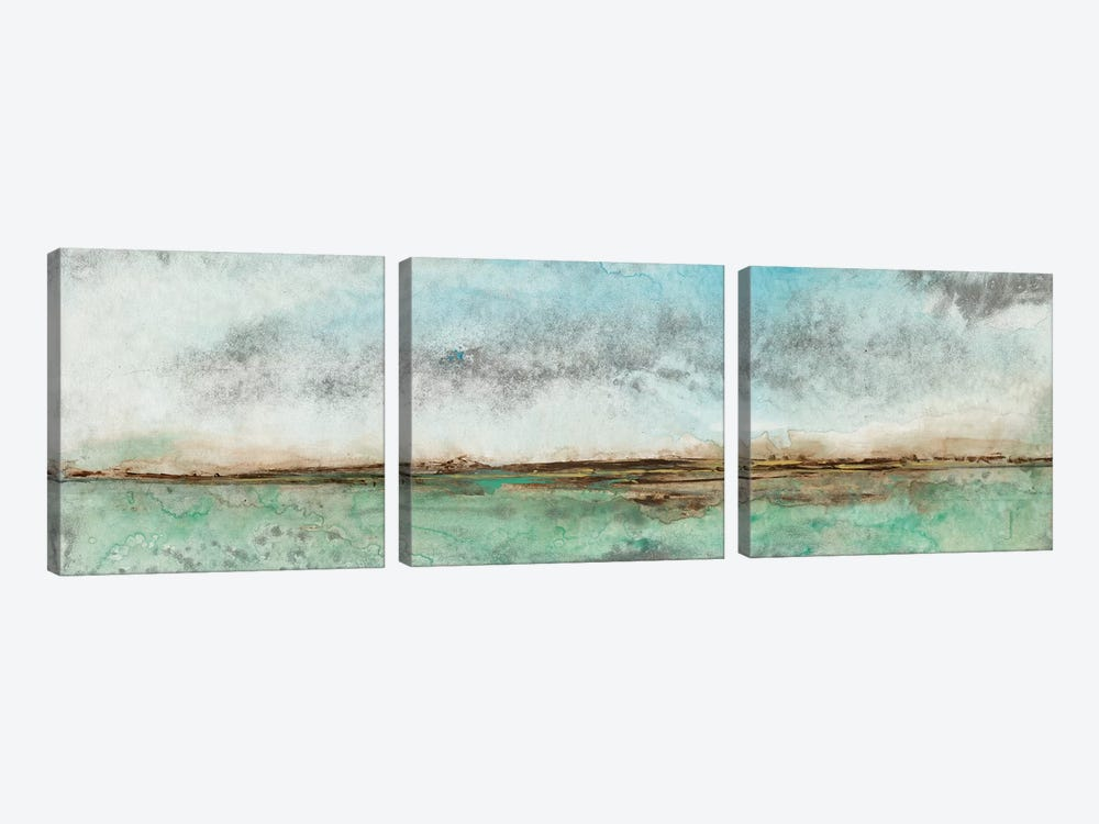 Miles From Nowhere I by Tim OToole 3-piece Canvas Print