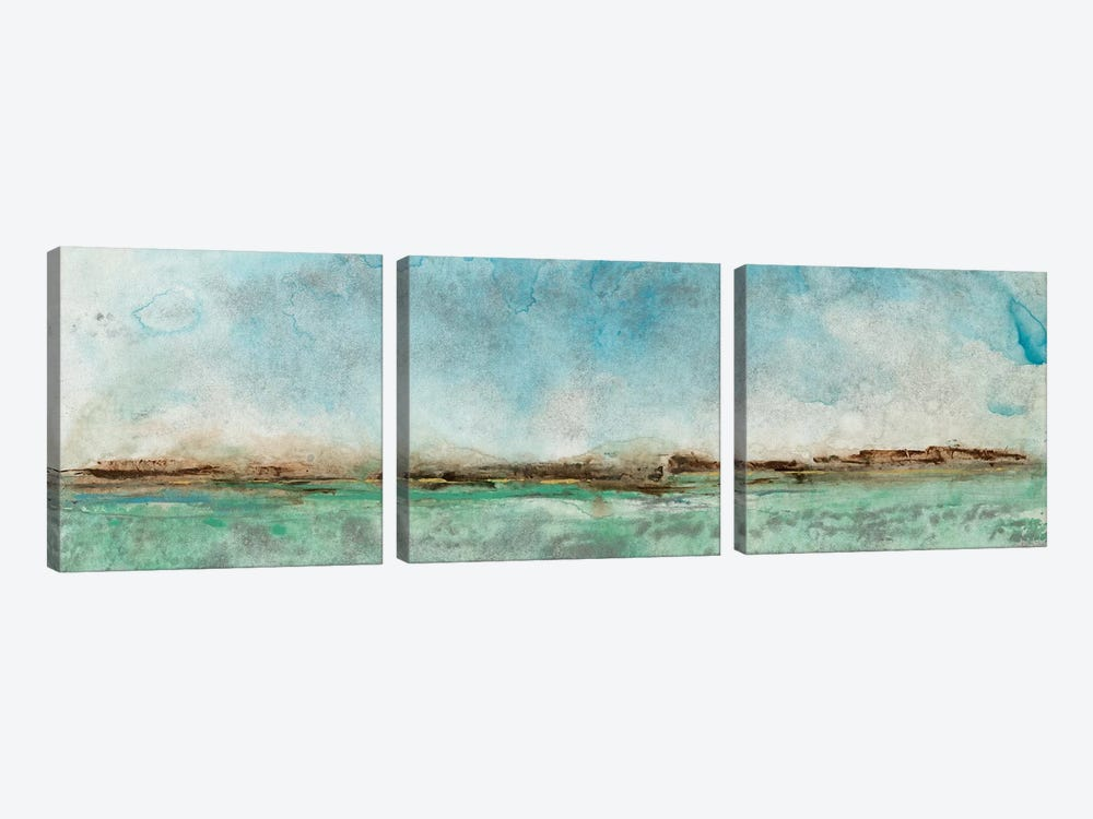 Miles From Nowhere II by Tim OToole 3-piece Canvas Wall Art