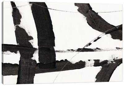 Obsidian Harmony I Canvas Art Print