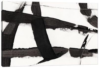 Obsidian Harmony II Canvas Art Print