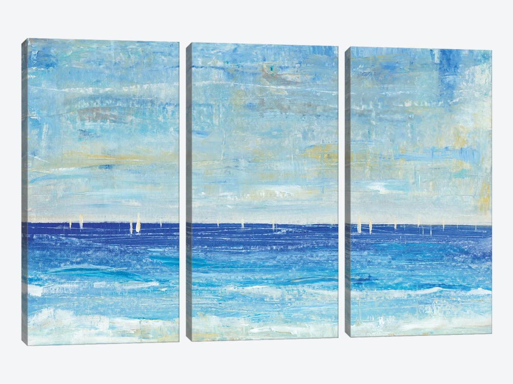A Perfect Day to Sail II by Tim OToole 3-piece Canvas Artwork