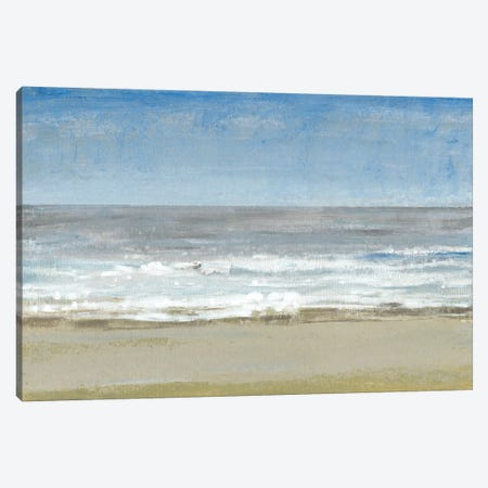 Beach Walking Day I Canvas Print #TOT129} by Tim OToole Canvas Wall Art