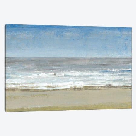 Beach Walking Day I Canvas Print #TOT129} by Tim OToole Canvas Wall Art