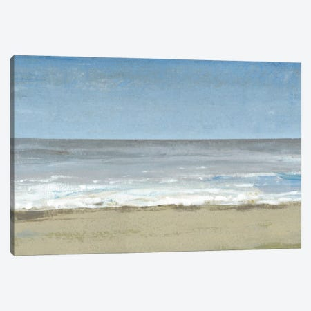 Beach Walking Day II Canvas Print #TOT130} by Tim OToole Art Print