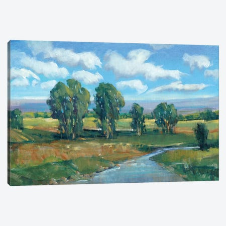 Lazy River Day I Canvas Print #TOT139} by Tim O'Toole Canvas Print