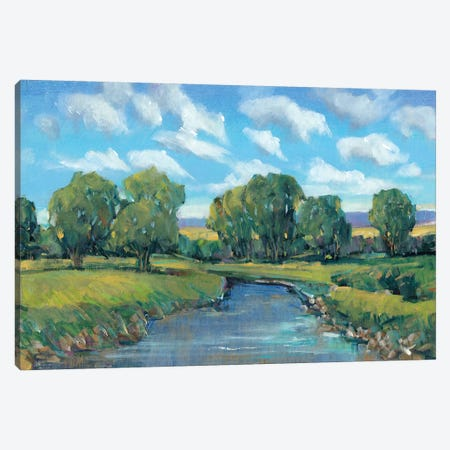 Lazy River Day II Canvas Print #TOT140} by Tim O'Toole Canvas Artwork