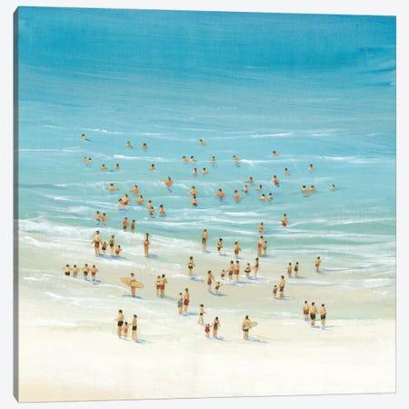 Ocean Swim II Canvas Print #TOT148} by Tim OToole Canvas Art