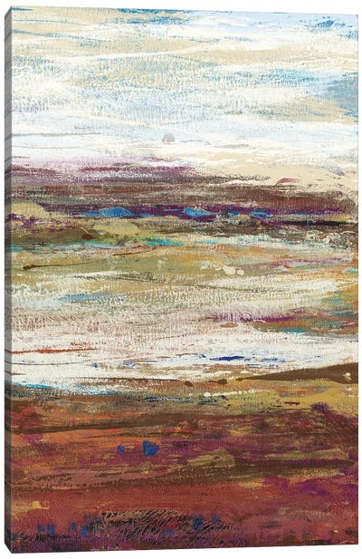 Plum Vista III Canvas Art Print