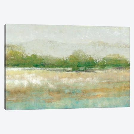 Spring Treeline I Canvas Print #TOT154} by Tim OToole Canvas Artwork