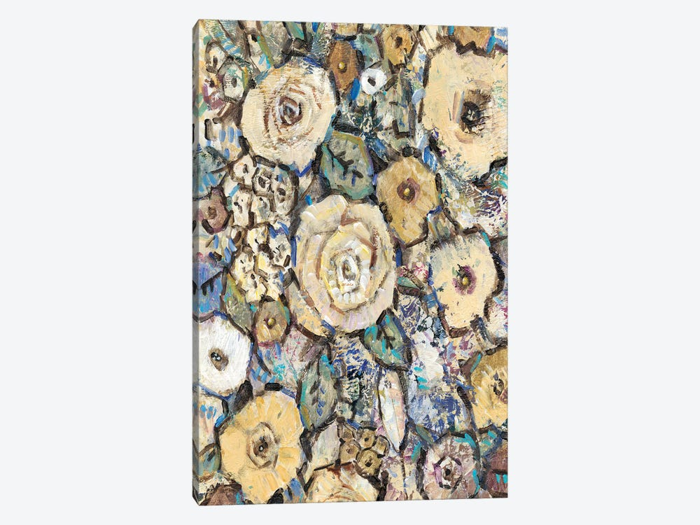 Decorative Flowers I by Tim O'Toole 1-piece Canvas Art