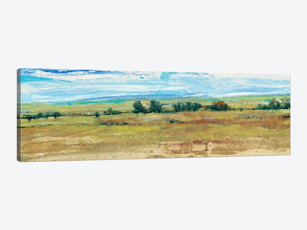 Distant Treeline Panel I by Tim OToole 1-piece Canvas Artwork