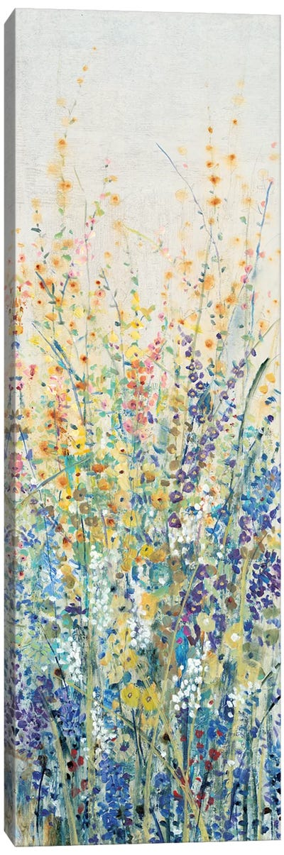 Wildflower Panel I Canvas Art Print