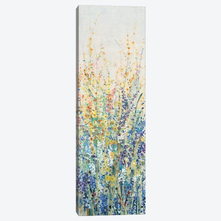 Wildflower Panel I 3-Piece Canvas #TOT177} by Tim OToole Canvas Art