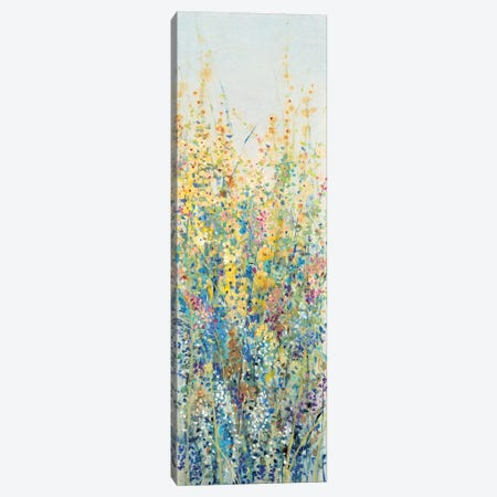 Wildflower Panel III Canvas Print #TOT179} by Tim OToole Art Print