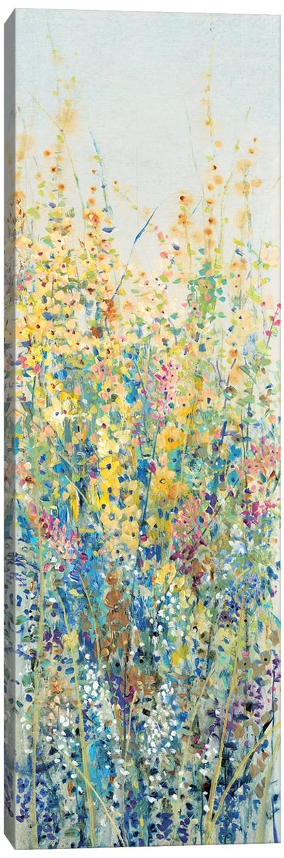Wildflower Panel III Canvas Art Print