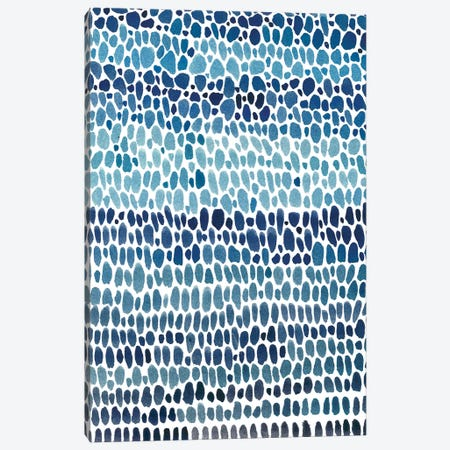 Blue Progression I Canvas Print #TOT186} by Tim OToole Canvas Print