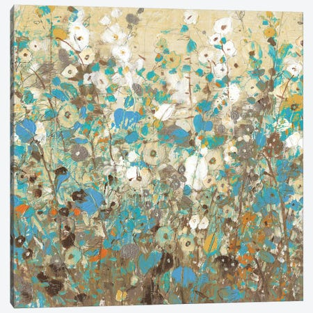 Flowering Vines I Canvas Print #TOT196} by Tim OToole Canvas Art