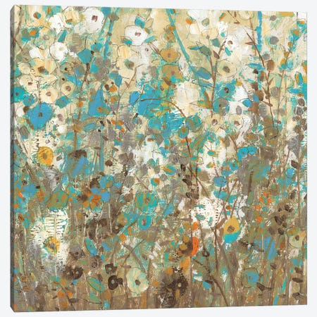 Flowering Vines II Canvas Print #TOT197} by Tim OToole Canvas Art