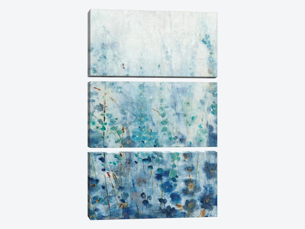 Misty Blooms I by Tim O'Toole 3-piece Canvas Art