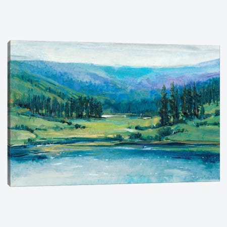 Mountain Lake I Canvas Print #TOT206} by Tim O'Toole Canvas Wall Art