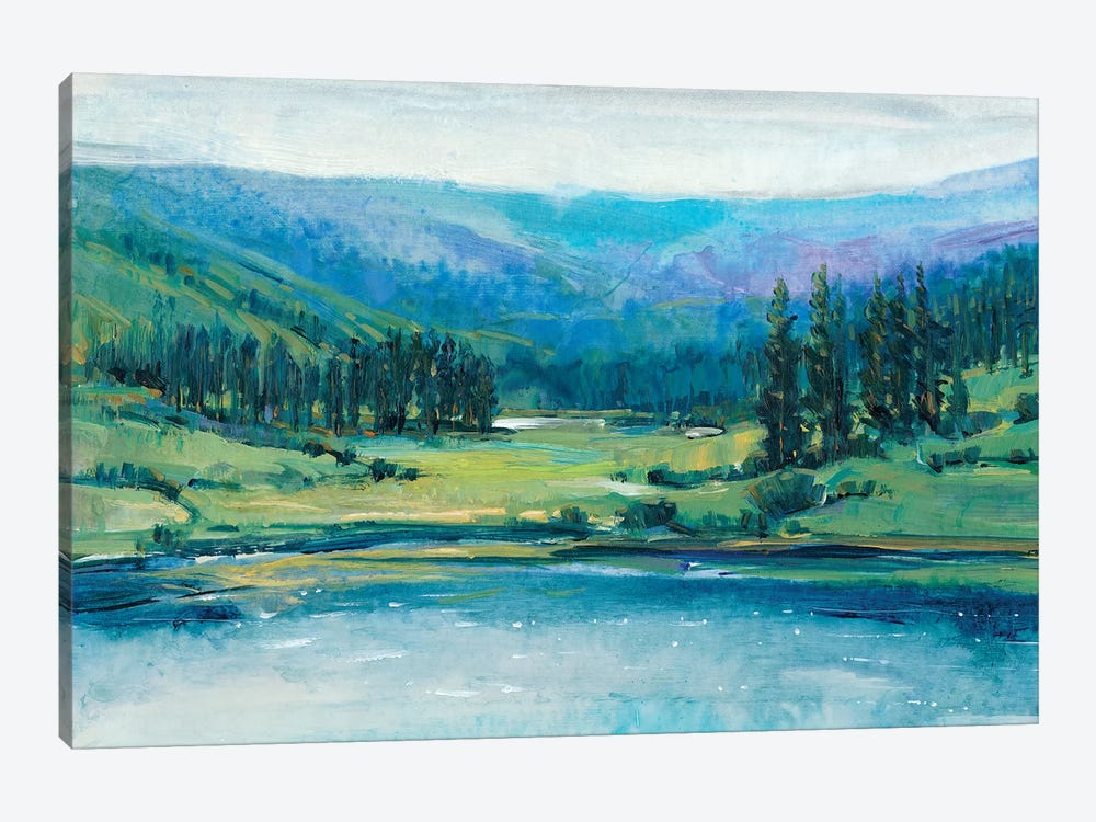 Mountain Lake I by Tim OToole 1-piece Canvas Artwork