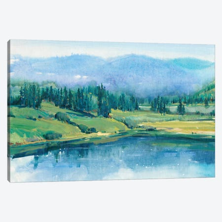 Mountain Lake II Canvas Print #TOT207} by Tim OToole Canvas Artwork